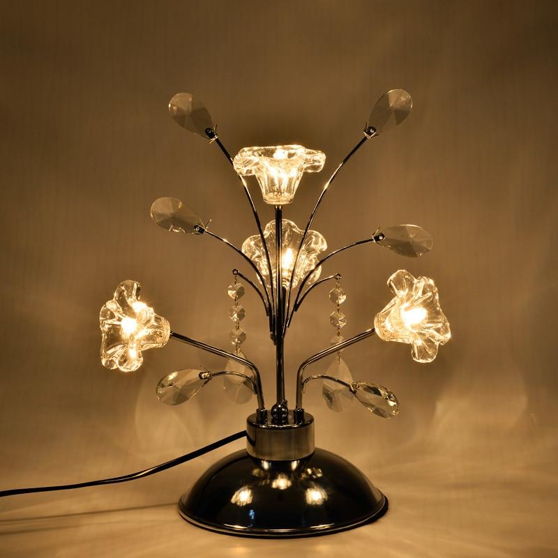 All Star Кристалл Настольная лампа дизайн спальни ночники европейский стиль Роскошная гостиная лампа творческий настольные лампы lu823406
