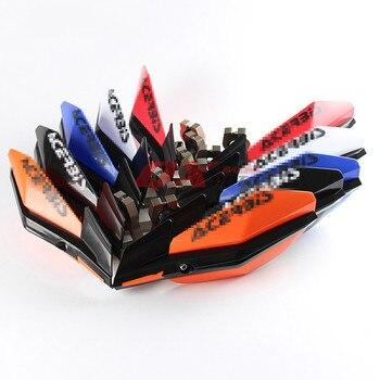 Todoterreno motocicleta calle coche deportes coche modificado guardamanos pañuelo KTM guardamanos escudo manual viento