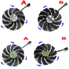 88MM T129215SU PLD09210S12HH 12V 4Pin Cooling Fan For Gigabyte GTX1060 1050 1070 Ti RX 480 570