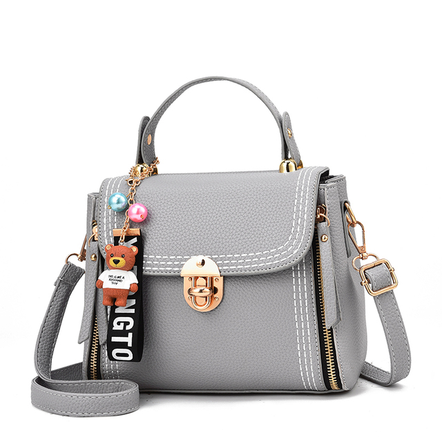 Luxury Handbags Women Bags Designer Leather Handbags Small Bags Women 2018 Woman Shoulder Crossbody Bags Sac A Main Femme LingXi