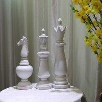 Международный шахматный украшения дома аксессуары Европейский настольных украшения высокого класса украшения дома Творческий Изделия из