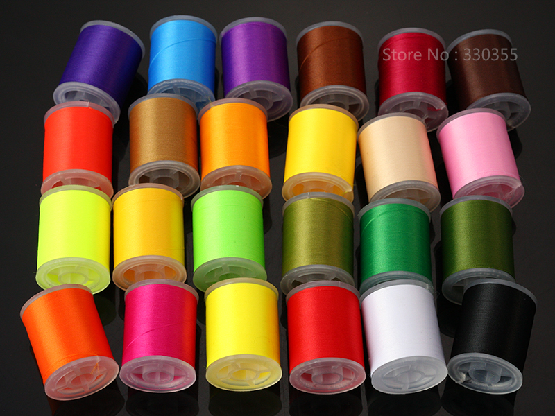 Fly tying thread 150 denier choose from 24 colors,150 Yd spools lures materials аксессуар защитная пленка asus zenfone 2 lazer ze550kl ainy матовая