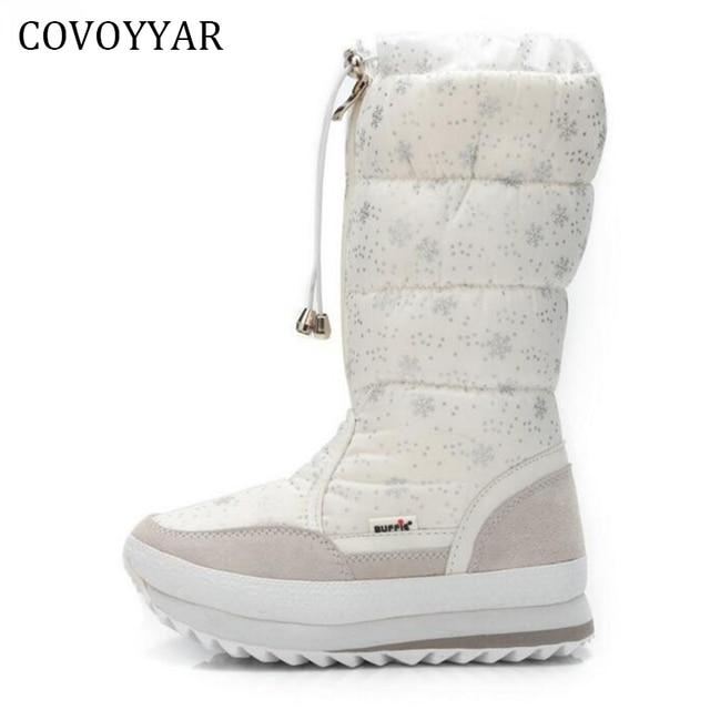 8b94928f922 COVOYYAR 2019 copo de nieve invierno impermeable botas de nieve de las  mujeres de alta calidad