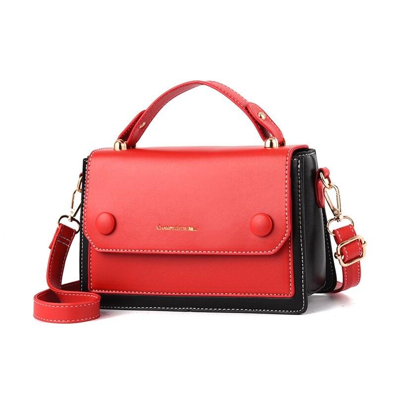 d42506b7253b US $21.0 55% OFF|Free shipping 2019 woman handbags trend leisure messenger  bag shoulder bag simple Korean version women bag retro geometric flap-in ...