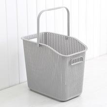 Plastic Laundry Basket for Bathroom