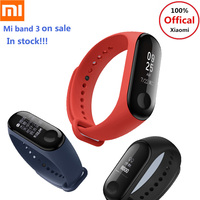 2018 Latest Xiaomi Mi Band 3 Band3 Smart Bracelet Heart Rate Monitor Bluetooth 4.2 Wristband Touch Screen 5ATM Swim Smart Band