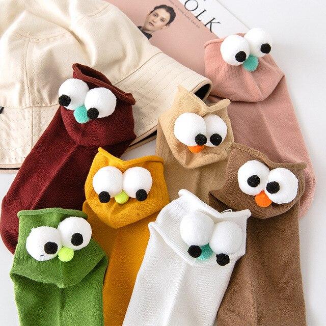 Sock Women Sock Harajuku Vintage Skarpetki Damskie Calcetines Streetwear Socks Calcetines Mujer Meias Sokken Cute bird socks