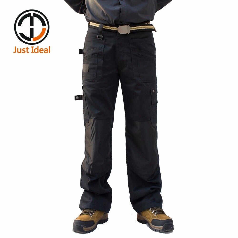 2019 nouveaux pantalons décontractés tactique militaire Oxford imperméable Multi poche pantalon Cargo pantalon grande taille ID632