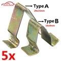 5x painel de guarnição da porta de metal clipes forro estofamento interior para vw para audi seat skoda para