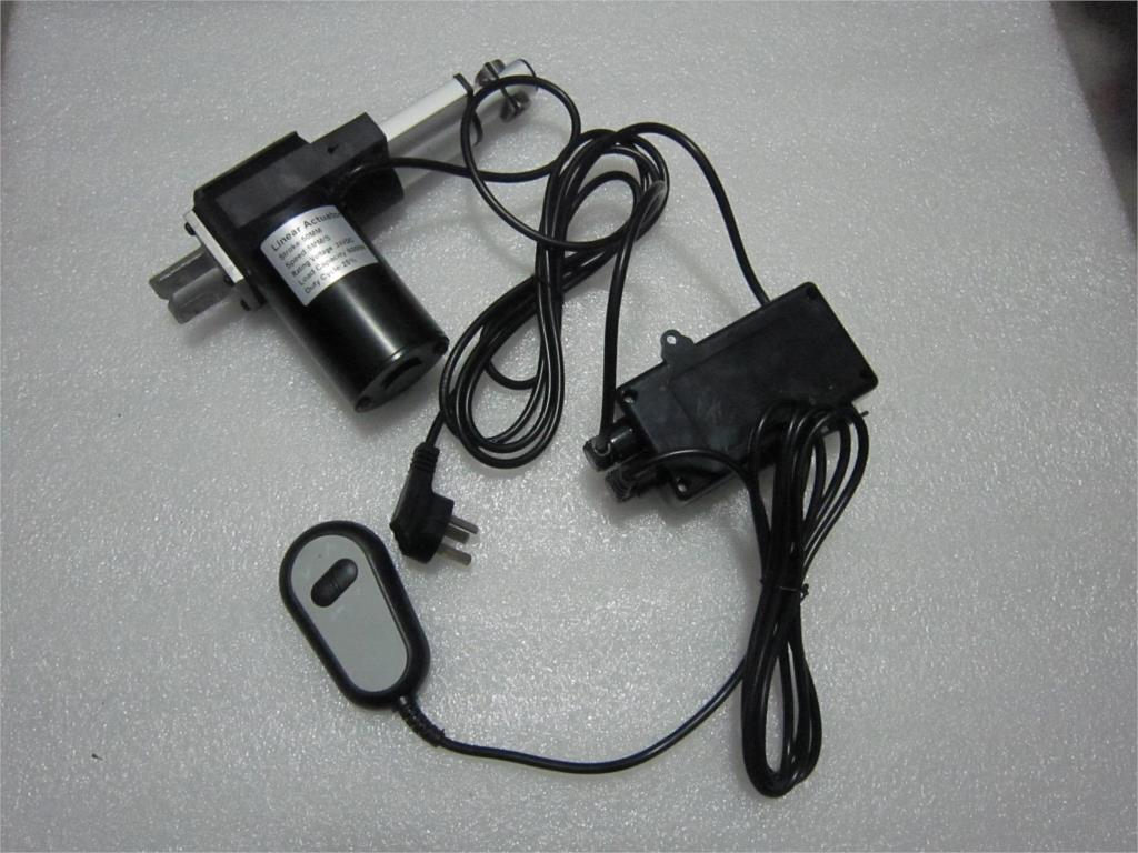 24V DC linear actuators 50mm set with power supply and handset for bed ,sofa chair use-1set