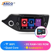 Android 9.0 9.1 Car DVD Player GPS Glonass Navigation Multimedia for Kia Ceed 2013 2014 2015 Auto RDS Radio Audio Video Stereo цена