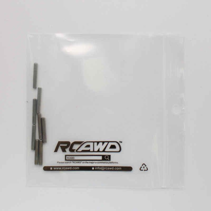 Rcawd 8 Pcs 2.5*16.8 Mm Positioning Pin untuk 1/8 RC Hobby Model Mobil HSP Mobil Himoto HPI Traxxas losi Axial Kyosho Tamiya