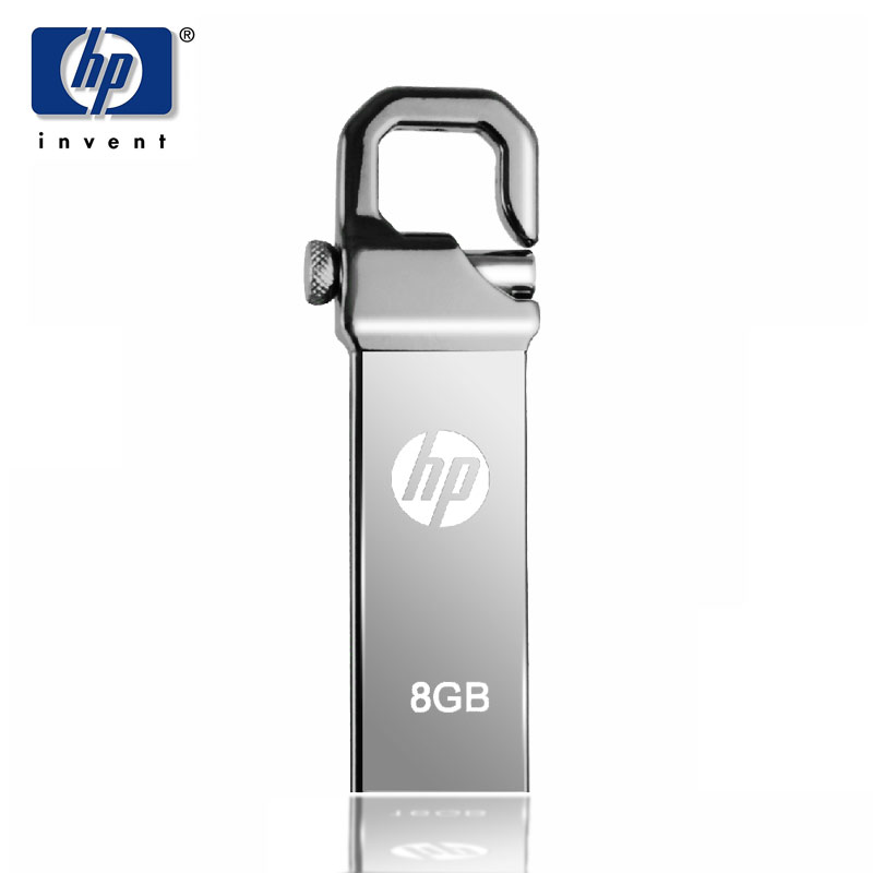 HP USB Flash 8GB 2.0 Pendrive V250w Flash Memory Stick Προσαρμοσμένο DIY LOGO USB Stick 8G Dropshipping για υπολογιστή PC Pen Drive 8GB