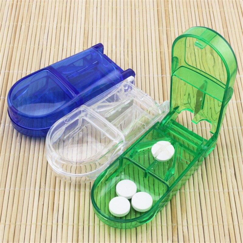 1db tabletták Vágás tároló doboz Utazás Hordozható orvosi - Szervezés és tárolás