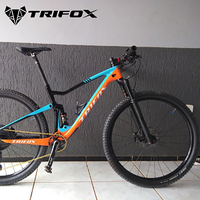 NEW TRIFOX Full Carbon road Frame Bicycle MTB 29er Cadre carbone T700 Mountain Bike Frame 148*12mm Super Light Suspension Frame
