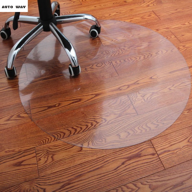 Swivel Chair On Carpet Outdoor Rocking Chairs Australia Wooden Floor Protection Pad Pvc Transparent Mat Computer Coffee Table Furniture Mats 1 5