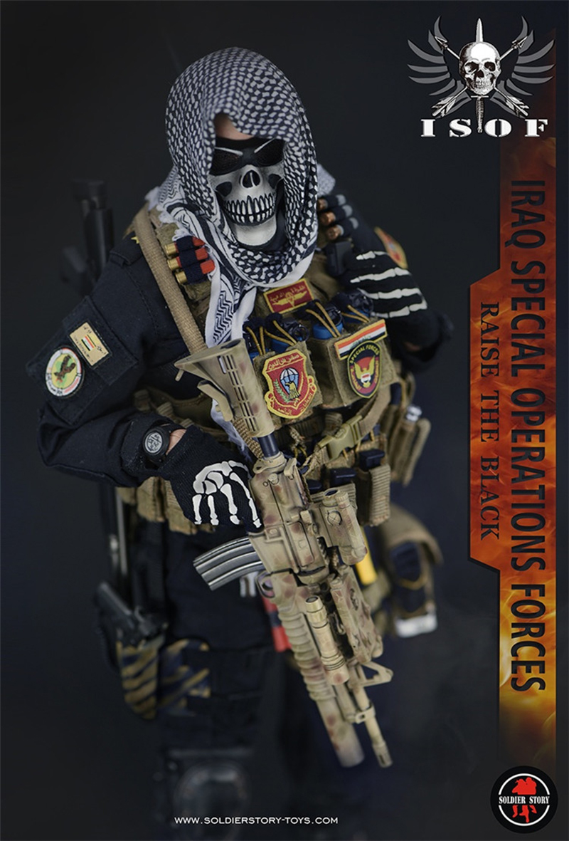 Full set doll 1/6 Scale Figure SoldierStory SS 105 1/6 Iraq special forces Figure military figure doll for collection 1