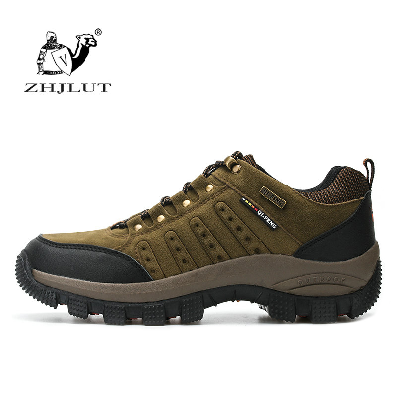 Woman Men Outdoor Hiking Shoes Waterproof Hunting Trekking Athletic Breathable pu Suede Leather Climbing Trail Shoes Sneaker цены онлайн
