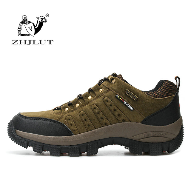 Woman Men Outdoor Hiking Shoes Waterproof Hunting Trekking Athletic Breathable pu Suede Leather Climbing Trail Shoes Sneaker