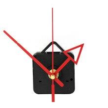 DIY часовой механизм классический Висячие черные кварцевые часы настенные часы механизм для ремонта запасной инструмент
