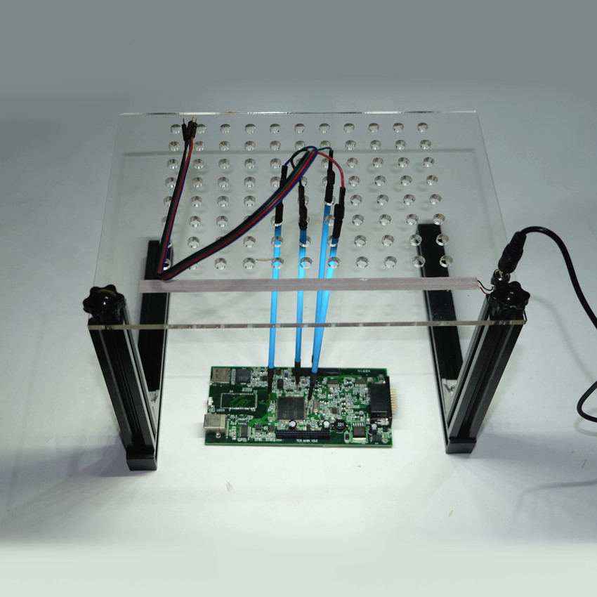 2017 NOUVEAU LED BDM CADRE pour KESS KTAG FGTECH NOUVEL ECU programmation Adaptateur 4 pcs Sonde Stylos Ensemble Complet BDM LED Lumière Maille Assistant
