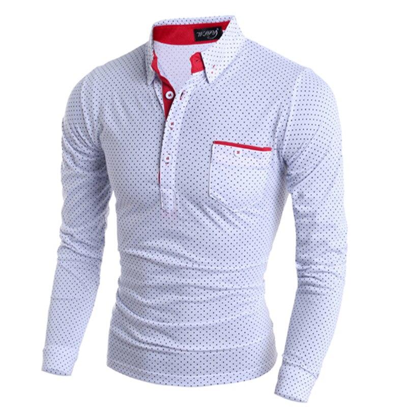 Brand Clothing Men Polo Shirt Pocket