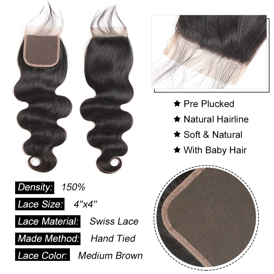 Hair Extensions & Wigs Human Hair Weaves Alipearl Hair Loose Wave Bundles Peruvian Hair Weave Bundles Human Hair Weft 1 And 3 And 4 Bundles 8-26inch Remy Hair Extension Carefully Selected Materials