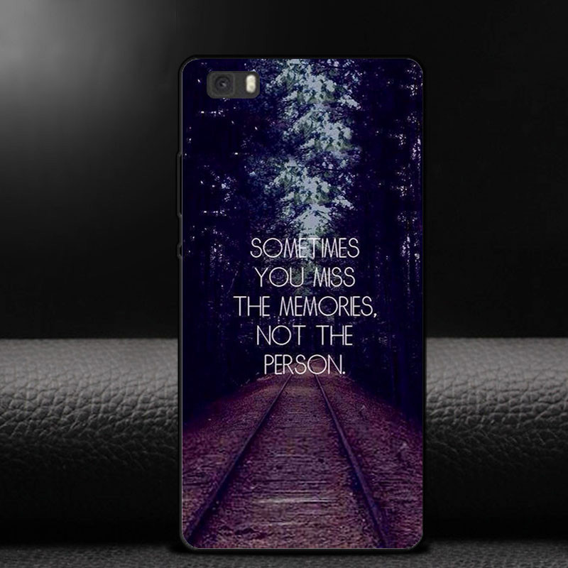 For Coque Huawei P9 Plus Phone Case Covers Luxury City Coconut tree Railway Design Hard PC Cases For Funda Huawei Ascend P9 Plus