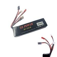 1pcs GE Power RC Transmitter Lipo Battery 11.1V 2200mAh 8C For 7 10 12E DEVO F12E JR Transmitter Wholesale