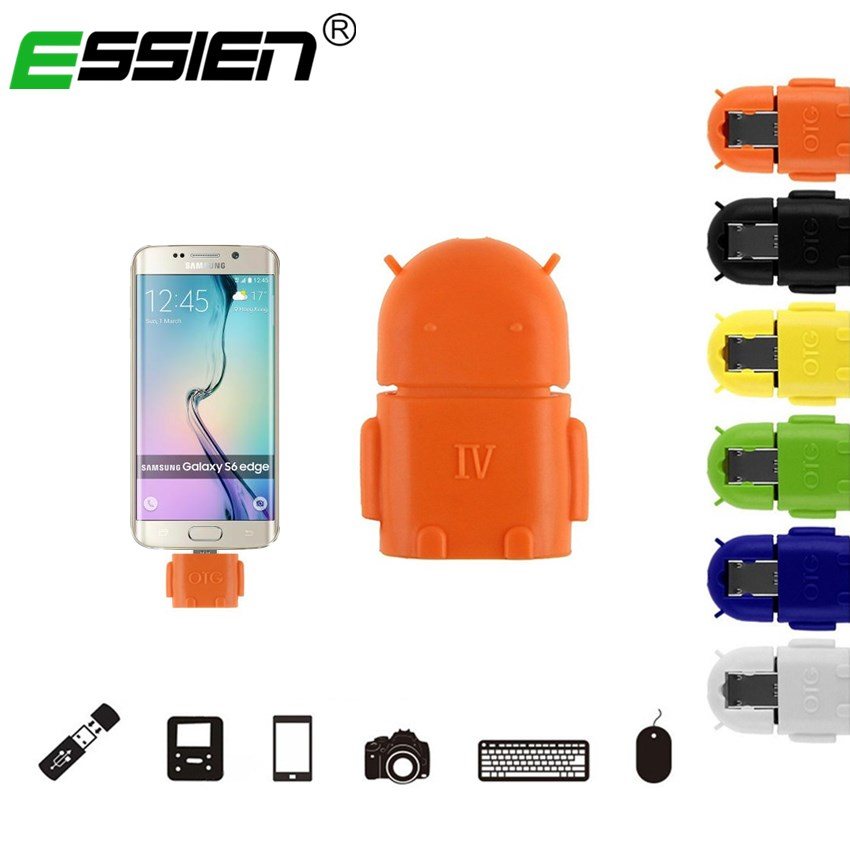 Micro USB To USB OTG Mini Adapter Converter For for Samsung Galaxy S7 S6 Xiaomi 1s 4 Redmi Note 4X Android SmartPhone Tablet