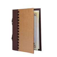 2015 New Upscale Retro Durable Menu Holder Cover Wine List Display Card For Restaurant Hotel Etc