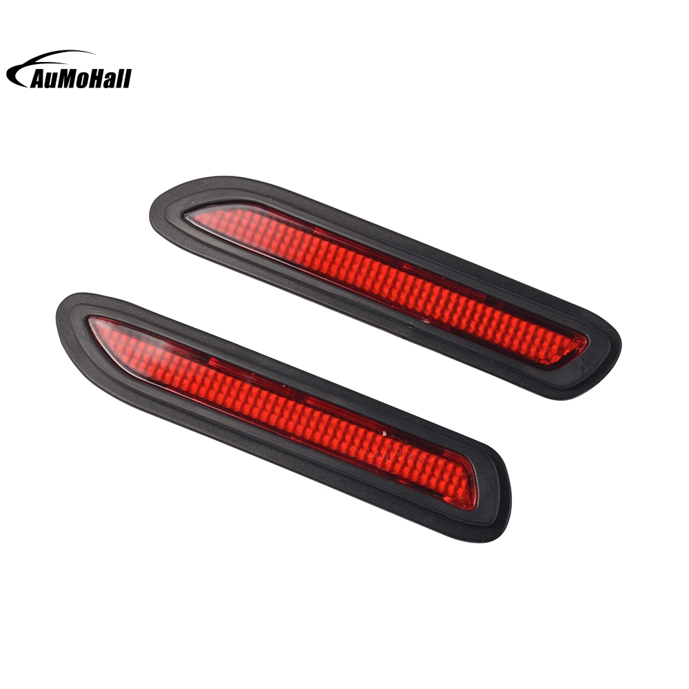 Universal Car Styling Auto Heckstoßstange Rote Led Nebel Bremslicht ...