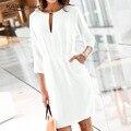 Платье женщин знаменитостей 2015г. С элегантным рукавом. Вы можете носить как  на работу, так и на  праздничный вечер