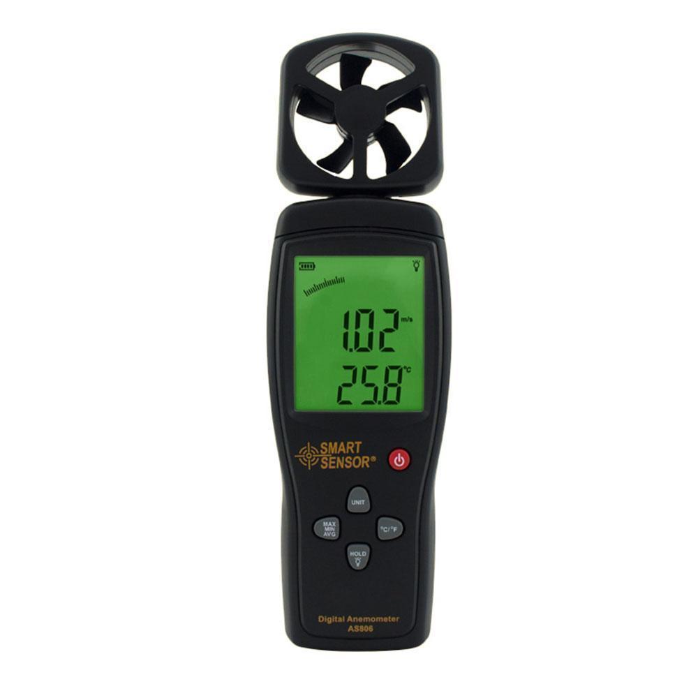 Anemometer Smart Sensor Air-flow 0.3~45m/s Temperature Measuring:0~45C