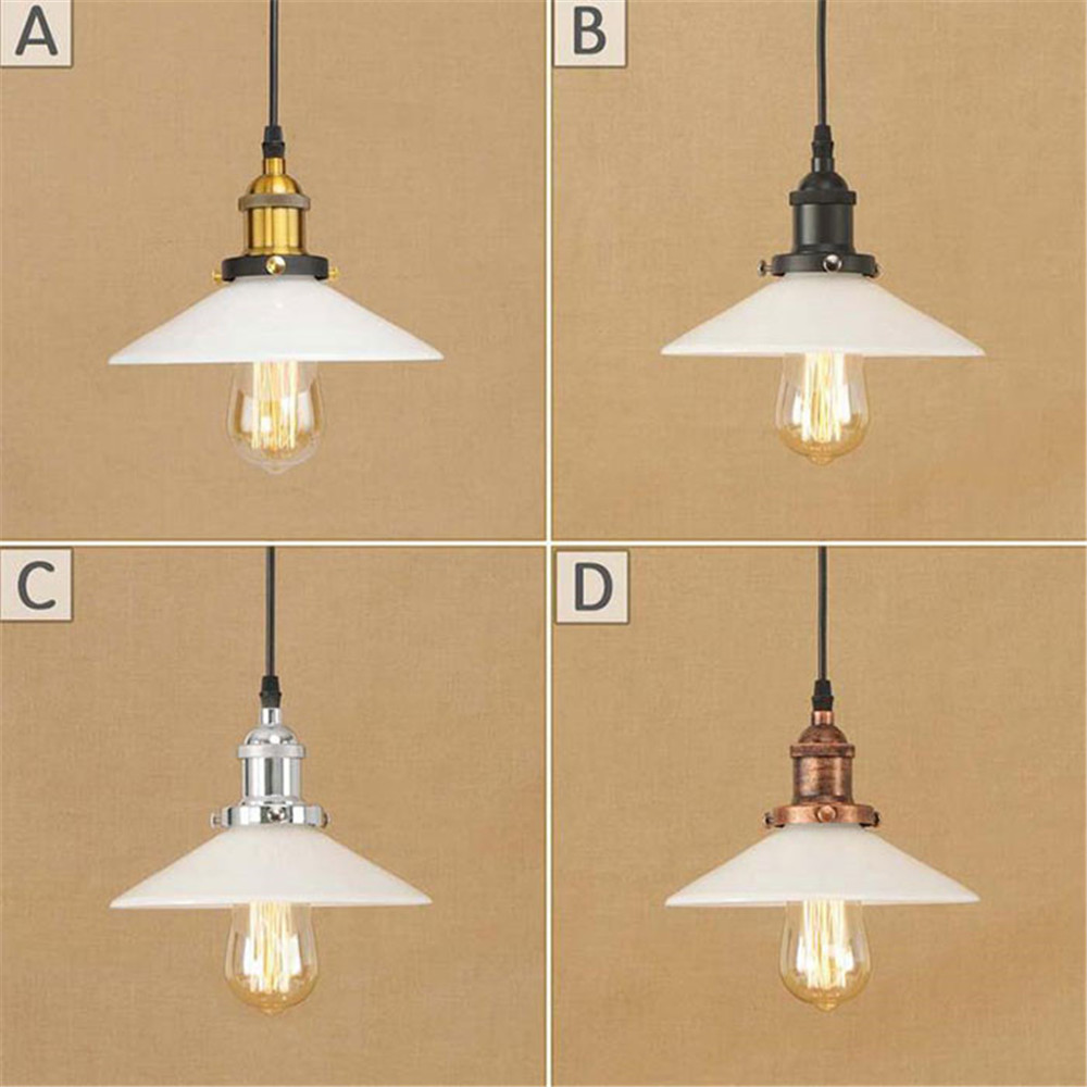 Modern Pendant Lights Lamparas Aluminum milky glass lamp shade Luminaire Dining Room Lights Pendant Lamp For Home Lighting loft siemens wm 12e145