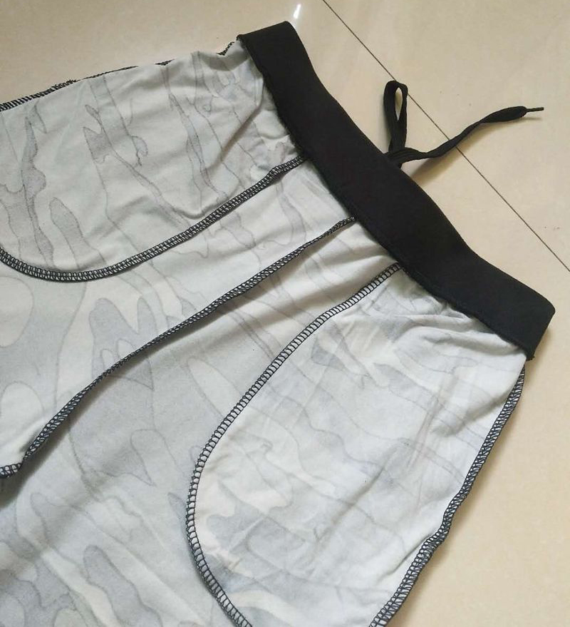 Sweatpants Harem Como Pants Drawstring Pantaloons Loose Female High Waist Pocket 35