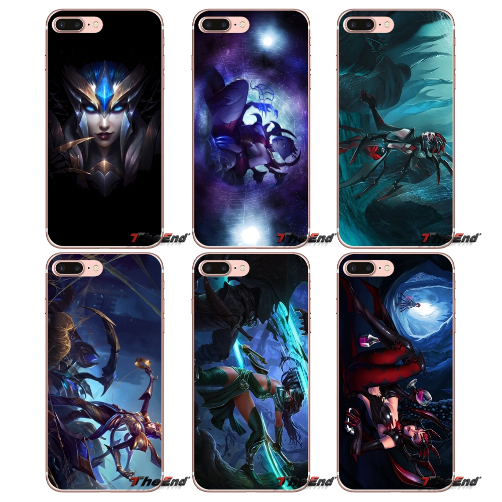 akali elise lol league of legends tpu case for iphone x 4 4s 5 5s 5c
