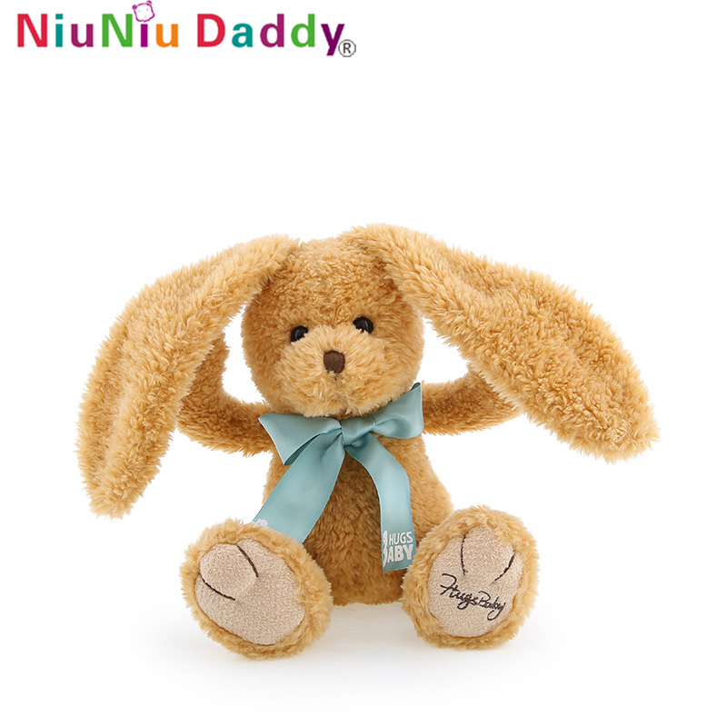 Niuniu Daddy Plush Toy Rabbit The Big Ears Little Brown Bunny 30cm Bear Rabbit Doll PlushToys Birthday Bow Tie Rabbit Child Gift-in Stuffed  Plush Animals from Toys  Hobbies on Aliexpresscom  Alibaba Group