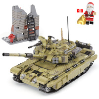 Army Series Ww2 Military Building Blocks Tiger Tank Legoings Technic City Police Special Forces Soldier Bricks Toys