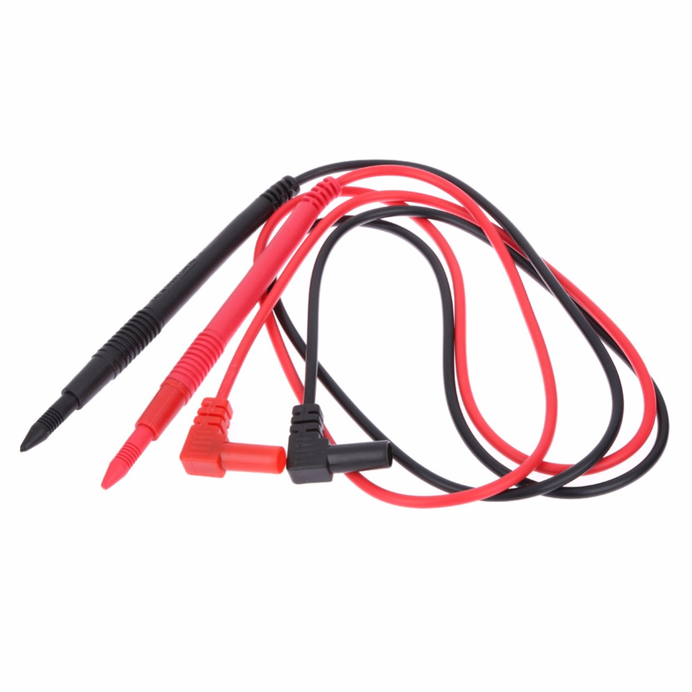 1 Pair 10A Universal Probe Test Leads Pin for Multimeter Digital Multi Meter Tester Lead Probe Wire Pen Cable Probe Lead 1pcs yt191 high voltage 4 mm banana plug test lead cable wire 100 cm for multimeter the probes gun type banana plugs