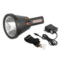 Flashlight 6000 Lumens Bright Spotlight 18000 MA Rechargeable LED Searchlight Handheld Tactical Electric Torch Lamp 2 Mode