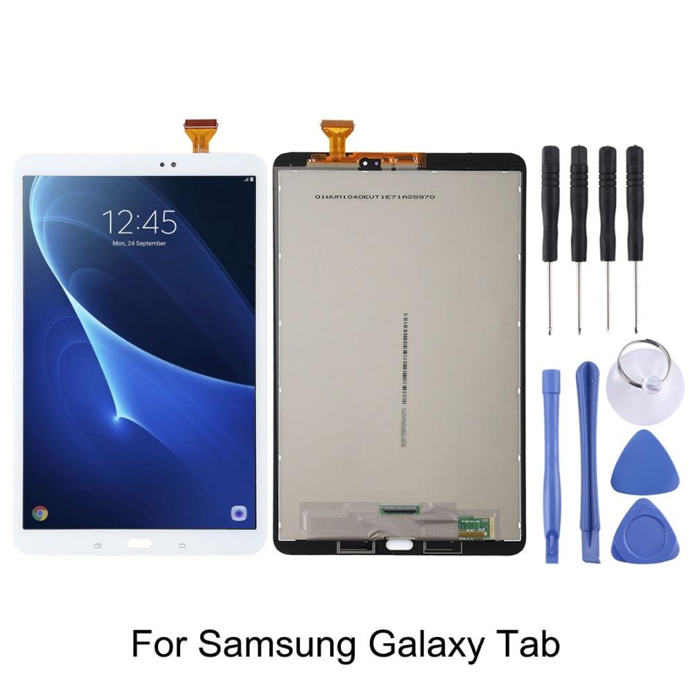 Bilgisayar ve Ofis'ten Tablet LCD'ler ve Paneller'de Samsung Galaxy Tab için bir ekran LCD ekran + sayısallaştırıcı meclisi için Galaxy Tab A 10.1/T580/P580 /P585/T350/P350/P355/Tab 4 7.0/T23 title=