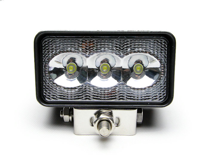 4.3 Inch 3 *3W 9W LED Work Light Bar flood beam  Motorcycle Driving lamp Offroad Boat Car Tractor Truck 4x4 SUV ATV 12V 33 inch 180w led work light driving lamp bar 60 x 3w flood