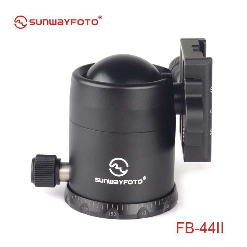 SUNWAYFOTO FB-44II kepala tripod untuk DSLR Camera Tripode Ballhead - Kamera dan foto - Foto 3