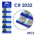 Para assista Botão bateria de Relógio CR2032 DL2032 ECR2032 5004LC Botão Coin Bateria de Células De Lítio Placa Principal EE6227