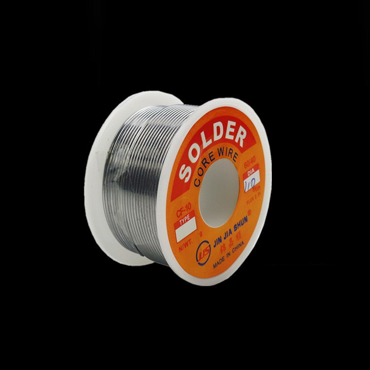 HOT 100g 0.6/0.8/1/1.2 60/40 FLUX 2.0% 45FT Tin Lead Tin Wire Melt Rosin Core Solder Soldering Wire Roll No-clean цена