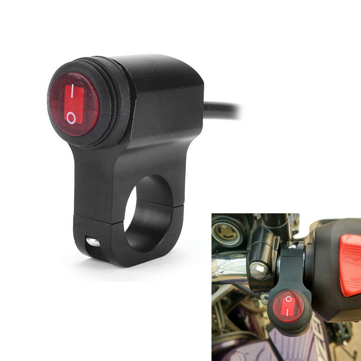 Waterproof Motorcycle Light Switch Ca Maintenance Wiring Connectors Terminals And Accessories