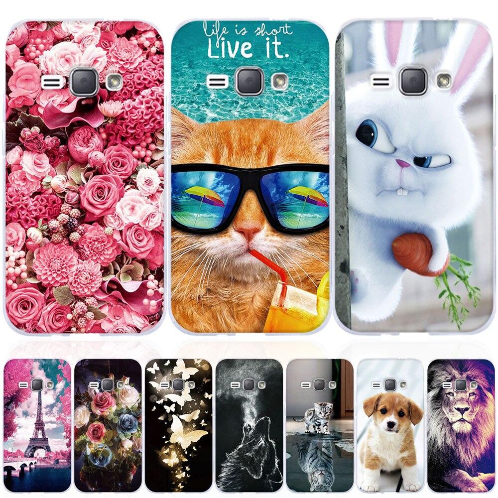 Fundas Coque Phone-Cases Samsung Galaxy Silicone for J1 J3 J5 J120 Soft TPU 3-5