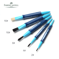 5pcs Faber Castell Reusable Washable Paint/Art Brush Pen, Nylon Mix With Bristle Pinsel, Art Supplies For Painting In School