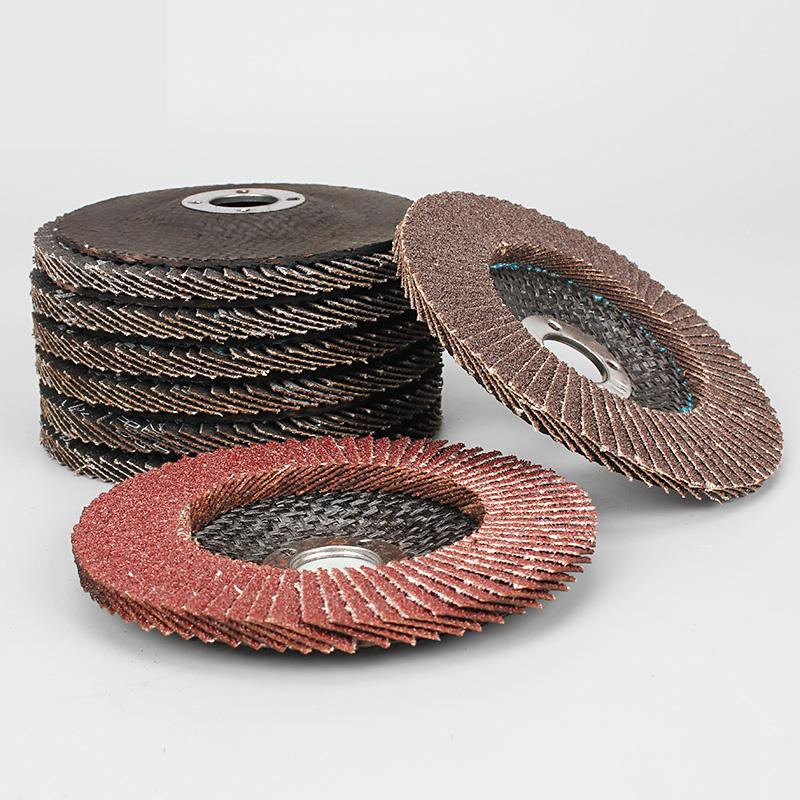 1PC Angle Grinder Wheels Zirconium Oxide 100mm Flap Sanding Abrasive Discs Bore 60-320 Grit 16mm Hole Size Tools
